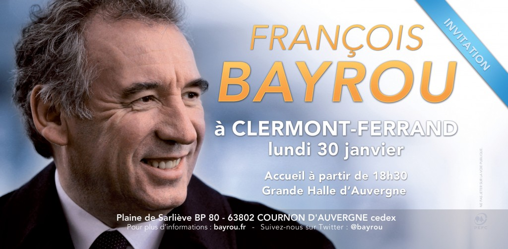 Invitation Clermont